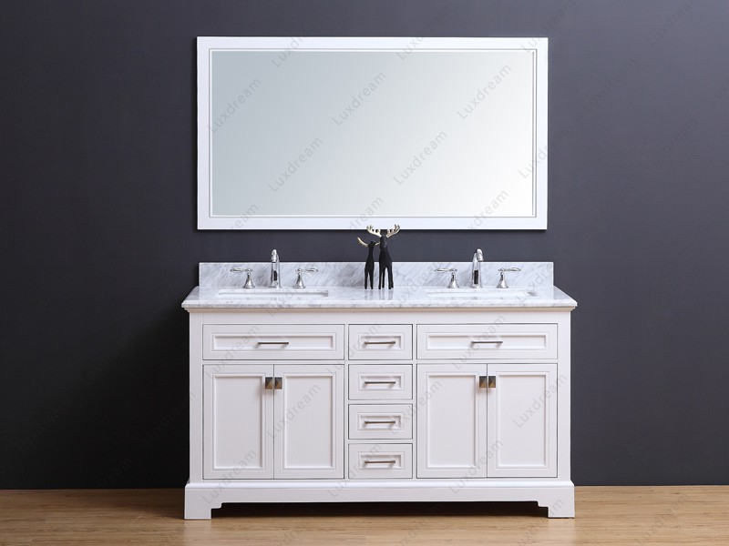 Traditional Bathroom Vanity LUX 609060 Luxdream Leading