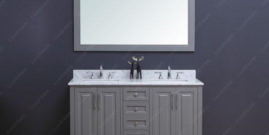 traditional bathroom vanity lux603060